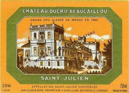 Provamos e aprovamos… Château Ducru-Beaucaillou 2003 Grand Cru Classé, Saint-Julien