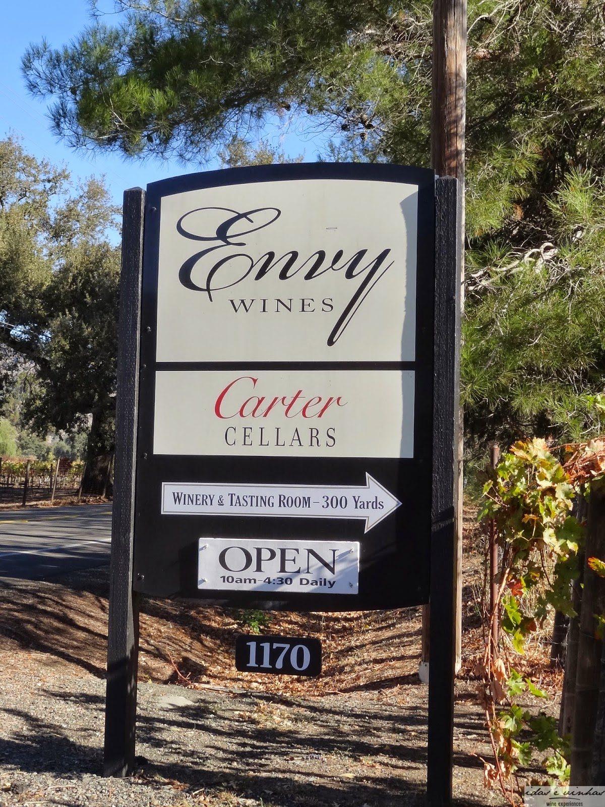 Idas e Vinhas na estrada – Napa Valley Parte II – Carter Cellars (21/10/2014)