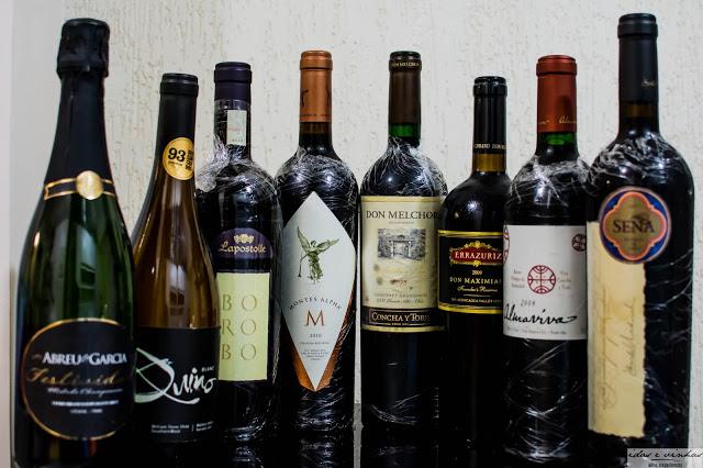Agenda… Degustação Idas e Vinhas – Estrelas do Chile