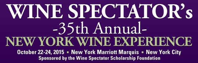 Agenda: Malas prontas para o Wine Spectator's New York Wine Experience 2015