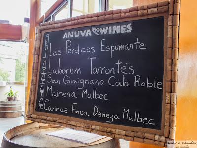 Enocuriosos… Bebericando por aí – Anuva Wines – Buenos Aires – Argentina