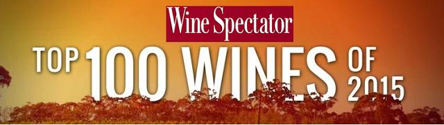 Wine Spectator Top 100 2015