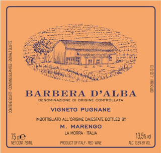 Provamos e aprovamos… vinhos Mario Marengo – Barbera D'Alba DOC Vigneto Pugnane 2013