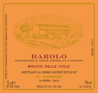 Provamos e aprovamos… vinhos Mario Marengo – Barolo DOCG Bricco delle Viole 2011