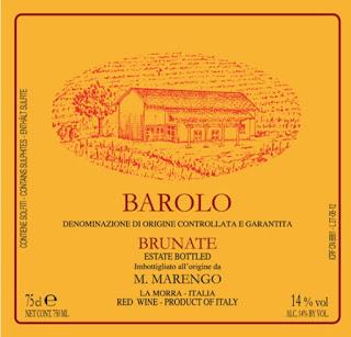 Provamos e aprovamos… vinhos Mario Marengo – Barolo DOCG Brunate 2011