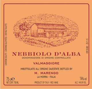 Provamos e aprovamos… vinhos Mario Marengo – Nebbiolo D'Alba DOC Vigneto Valmaggiore 2013