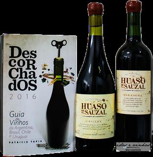 Huaso de Sauzal Chilena 2014 – vinho revelação e melhor país chileno pelo Descorchados 2016
