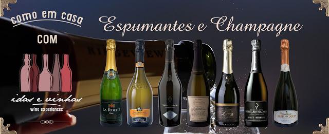 Inscrições abertas… Espumantes e Champagne, 10 de Dezembro de 2016