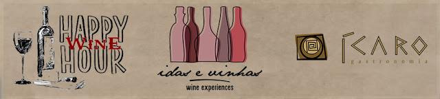 Agenda… Happy Wine Hour Idas e Vinhas com os vinhos da Viña Odfjell e Viña Bisquertt