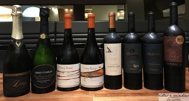 Aconteceu… Happy Wine Hour com vinhos Odfjell e Bisquertt