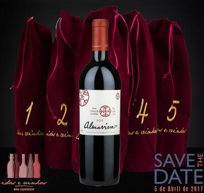 Agenda… Save the date! Dia 05 de abril de 2017 tem Happy Wine Hour especial – Desafio Almaviva