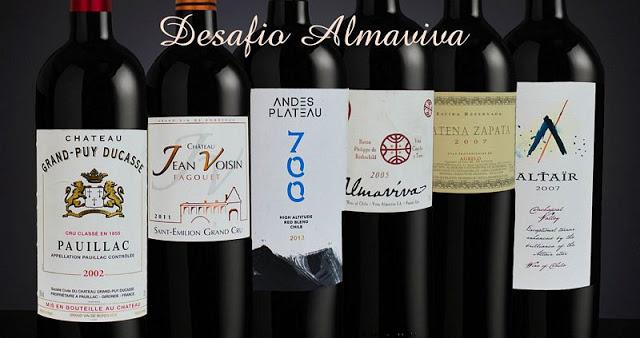 Inscrições abertas… Happy Wine Hour especial – Desafio Almaviva, 05 de abril de 2017