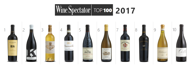 Wine Spectator Top 100 2017